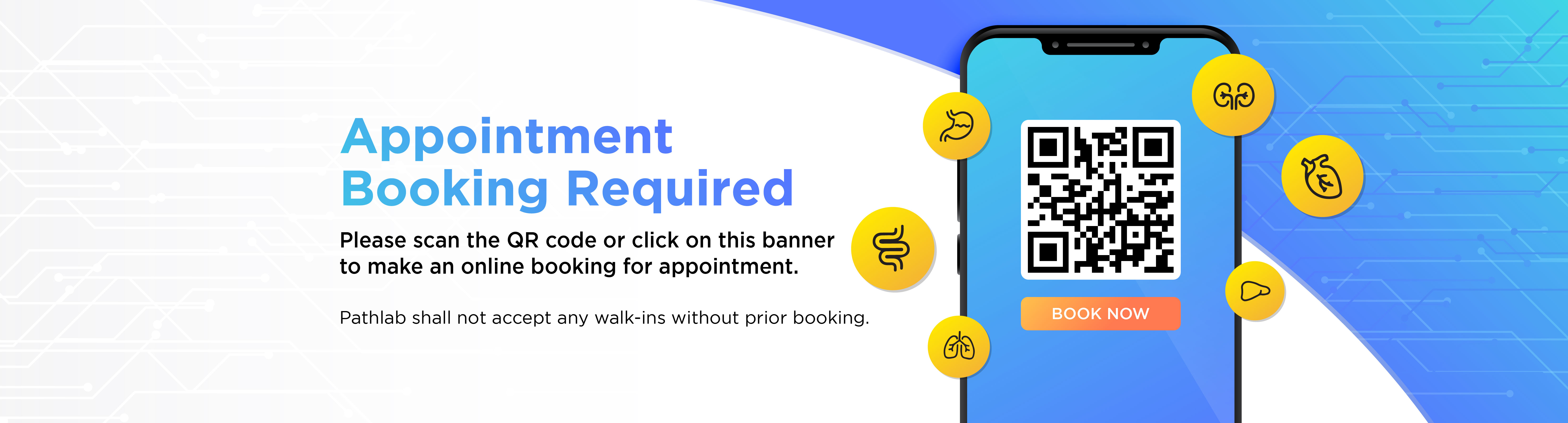 Appointment Booking Required