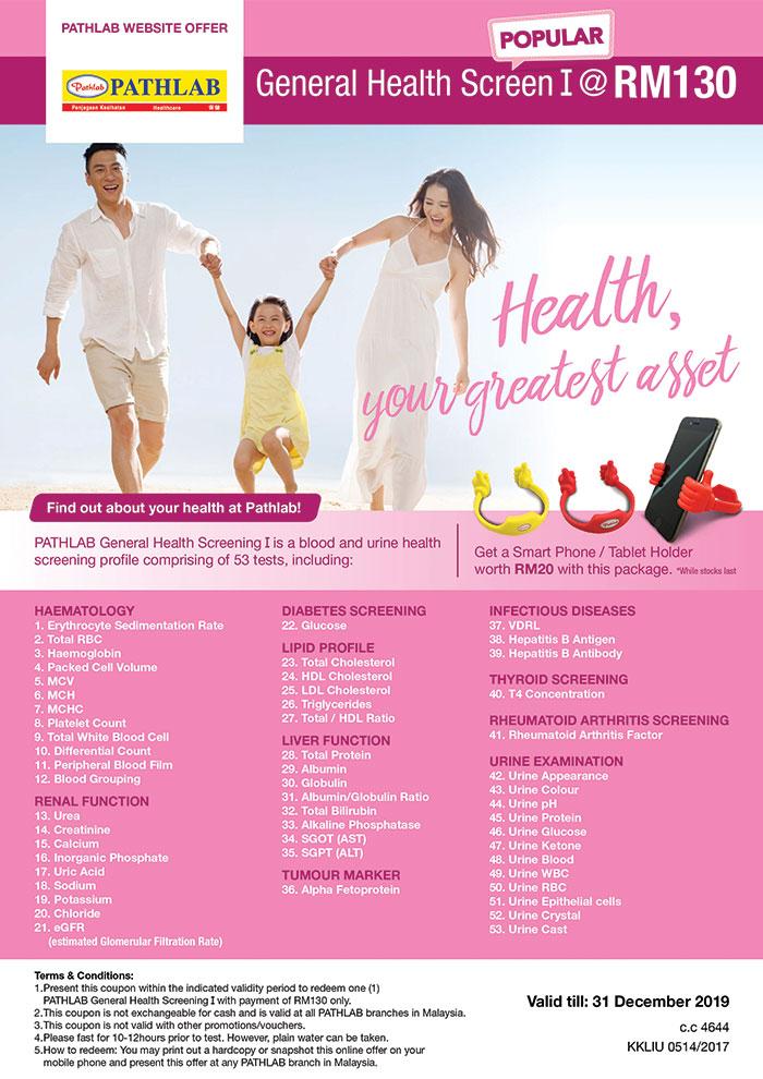 Promotions | Pathlab | Health Screening | Blood Test